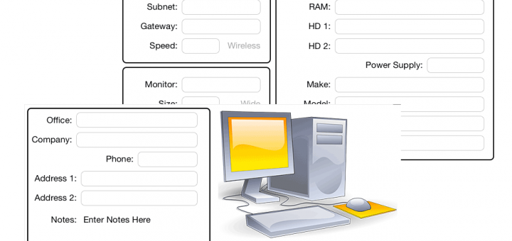 Computer Track Screen Concepts