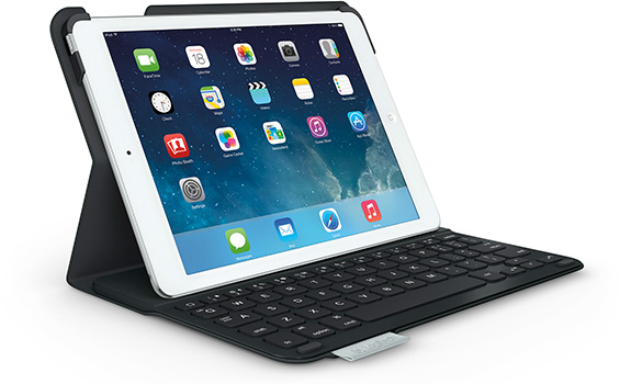Logitech Ultrathin Keyboard Folio for iPad Air - Typing Mode
