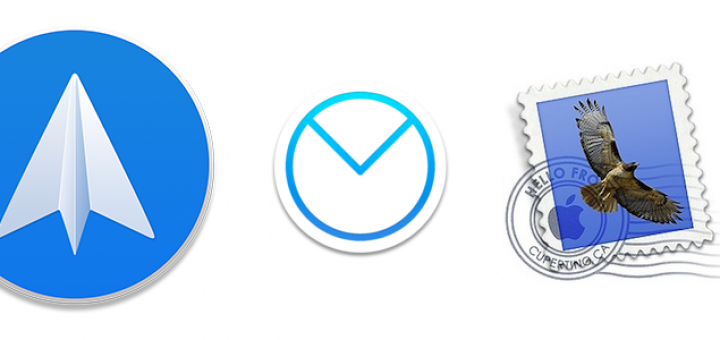 Email app comparison for Mac and iOS